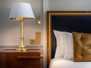 Projetos de hoteis, residenciais e comerciais Hotéis eclécticos por DLOFT Eclético
