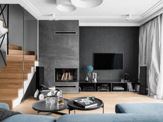 Anna Serafin Architektura Wnętrz Modern living room