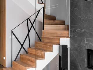 Anna Serafin Architektura Wnętrz Stairs