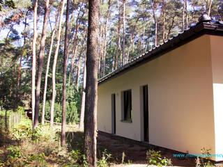 DOM realizacja domu w lesie :) od mimtwardowscy