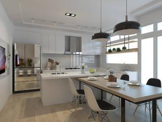 透天厝設計 根據 歐居室內設計有限公司 現代風