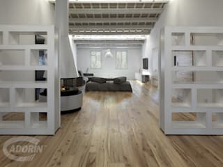 Livings modernos: Ideas, imágenes y decoración de Cadorin Group Srl - Top Quality Wood Flooring Moderno
