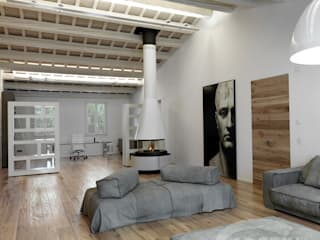Salas de estilo moderno de Cadorin Group Srl - Top Quality Wood Flooring Moderno