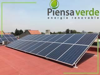 Piensa Verde México, Querétaro, Cancún บ้านประหยัดพลังงาน โลหะ Metallic/Silver