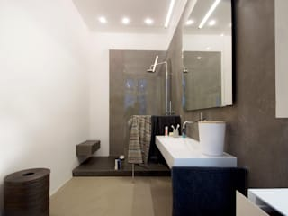 Obere Donaustraße   Wien heimweh plus Moderne Badezimmer Beton Grau