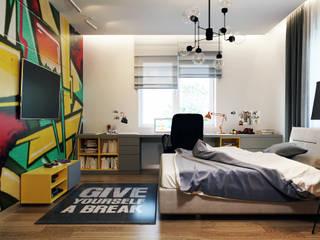 БЕРЕЗОВАЯ РОЩА Детская комнатa в стиле минимализм от TIME DESIGN STUDIO Минимализм