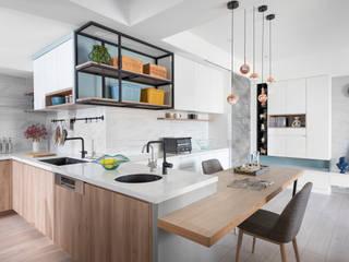 知域設計 Modern dining room