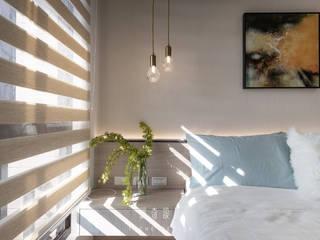 緹奇設計 Kamar Tidur Modern Kayu Wood effect