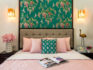 Mahagun Mywoods Phase 1 Colonial style bedroom by Amusing Interior Colonial