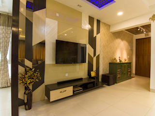 Residential (Living and Dining Rooms) Classic style living room by Antarangni Interior p ltd Classic