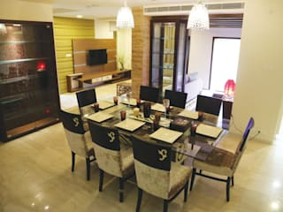 Residential P Modern dining room by Antarangni Interior p ltd Modern
