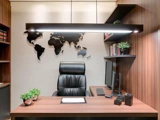 モダンな商業空間 の Square Arc Interior モダン