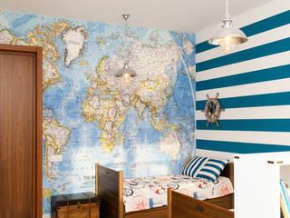 Реализованный проект по ул. Гражданская 11 Детская комнатa в стиле минимализм от TIME DESIGN STUDIO Минимализм