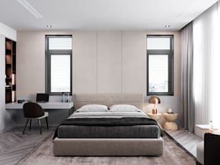 Small bedroom by MENTAL ARC DESIGN, Modern