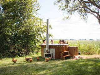 Ducktub hottub: de Ducktub Luks van Welvaere Landelijk