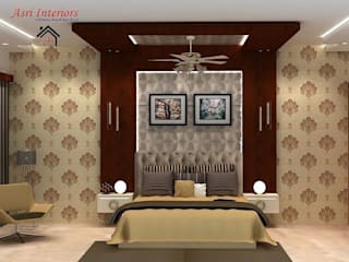 DRAWING DINING ENTRANCE FOYER BED ROOM MASTER BED ROOM by Asri Interiors