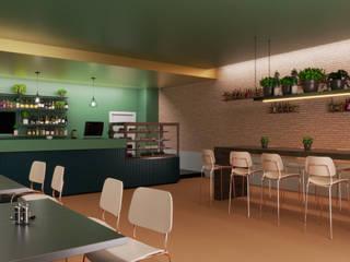 Render arredamento bar di Stefano Mimmocchi Rendering Moderno