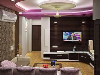 Flat Interior by Bharti Creatives