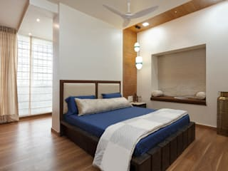 vishakha chawla interiors photographs Modern style bedroom by Vishakha Chawla Interiors Modern
