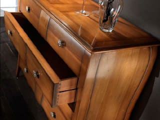 Mobilificio RBR ebanisteria Small bedroom Solid Wood Wood effect