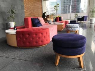 Lobby en Polanco CDMX Estudios y despachos modernos de HR® By Natalia Jiménez Moderno