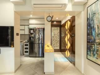 hiranandani thane 3bhk flat: modern  by Conceptual Design Studio ,Modern