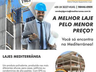 FOLDER LAJES MEDITERRÂNEA por LAJES MEDITERRANEA Rústico