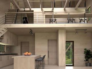 Casa Galpón HI-II de Soc. Constructora Cavent Spa Moderno