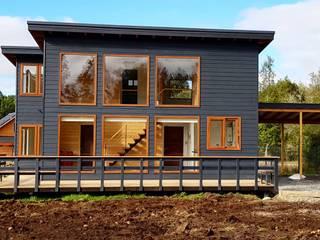 Casa BDM Casas estilo moderno: ideas, arquitectura e imágenes de Soc. Constructora Cavent Spa Moderno