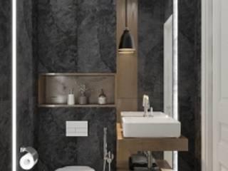 Вилонова Ванная комната в стиле модерн от DESHOUSE INTERIORS Модерн