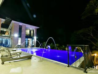 NATURAL PARADISE HOTEL BOUTIQUE PISCINA de C&P ARQUITECTURA, DISEÑO Y CONSTRUCCION S.A.S Moderno