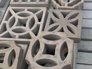 Girassol artes em artefatos Walls & flooringWall & floor coverings Beton Bertulang