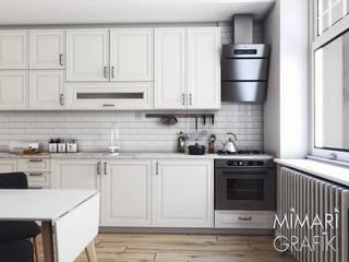 Iskandinav Salon ve Mutfak Mimari Grafik