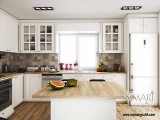 Can Bey Mutfak Projesi Mimari Grafik