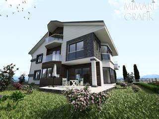 Sinan Bey Villa Projesi Mimari Grafik
