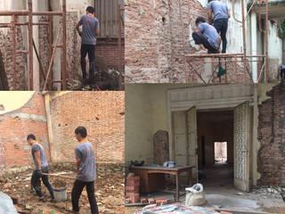 Mẫu đơn xin phép sửa chữa nhà ở tại TPHCM: Châu Á  by Công ty TNHH kiến trúc xây dựng nội thất An Phú, Châu Á
