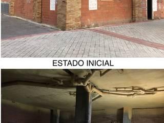 PROYECTO Y EJECUCION: Clinica GROW CLINIC. Montecarmelo- Madrid Paredes y suelos de estilo moderno de Arquide Estudio, reforma y rehabilitación en Madrid Moderno