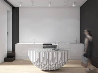 L3 Столовая комната в стиле минимализм от Анна Борматова Минимализм