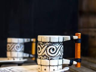 Kahve Fincanları Bardaklar Kupalar Olimpos Seramik Akdeniz