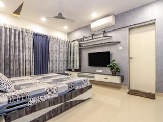 2bhk, F Residencies:  Bedroom by AARAYISHH (Mumbai & Pune),Modern
