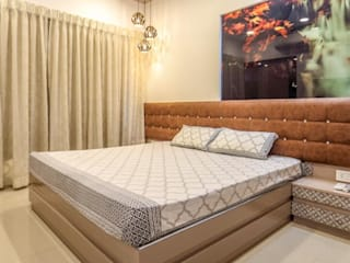2bhk, F Residencies Modern style bedroom by AARAYISHH Modern