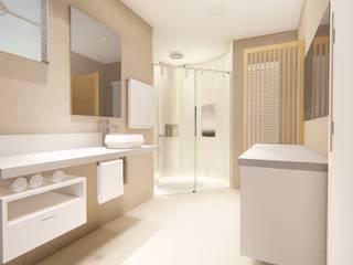 Reforma de banheiro : Banheiros  por Outline Arquitetura,Moderno