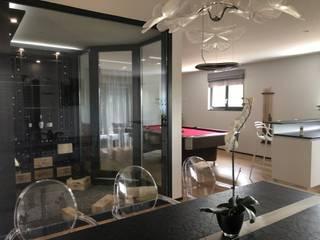 CSInterieur Pasillos, vestíbulos y escaleras de estilo moderno