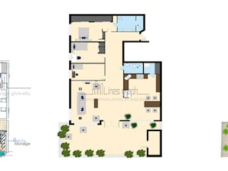 2D & 3D Floor Plan Conversion by Linesgraph