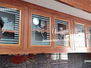 balabharathi pvc interior design KitchenKitchen utensils Wood Wood effect
