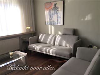 Woning te Heverlee: modern  door STOLZ Puur leder, Modern