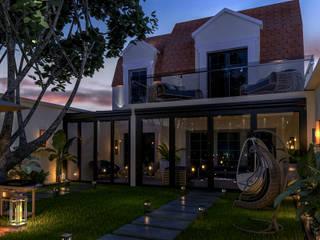 Fransa Viila Bahçe Peyzaj Projesi Ali Kafadar Design Studio Tropikal