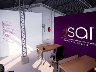 EHG arquitectura y construcción Espaces commerciaux modernes
