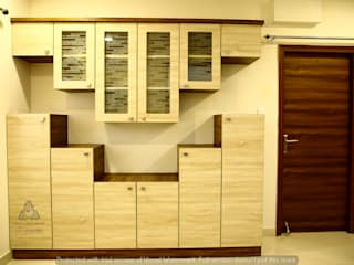 My Home Avatar Modern dining room by Meticular Interiors LLP Modern