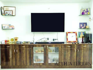 Traditionally Designed Home : modern  by Ajith interiors,Modern